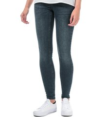 womens lux mid rise super slim jeans