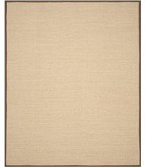 safavieh natural fiber maize and brown 8' x 10' sisal weave area rug