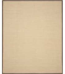 safavieh natural fiber maize and brown 8' x 10' sisal weave rug
