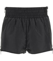 red valentino nylon shorts