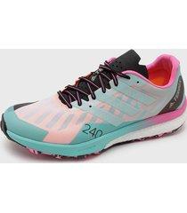 zapatilla de trail running terrex speed ultra multicolor adidas outdoor