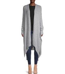 cashmere-blend cape