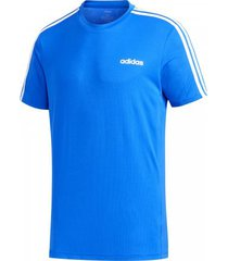 camiseta masculina adidas designed 2 move 3-stripes