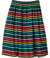 sonia rykiel enfant multicolored skirt