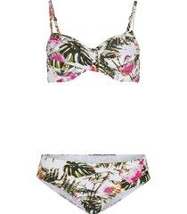 bikini con ferretto (set 2 pezzi) (bianco) - bpc selection