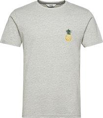 sdruben t-shirts short-sleeved grå solid