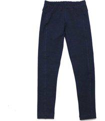 legging tóing! de cotton marinho recortes azul - kanui