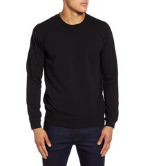 men's goodlife slim micro terry crewneck sweatshirt