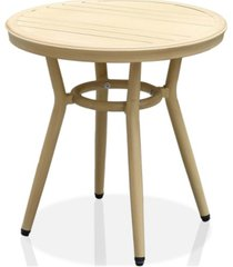 capitola round patio side table