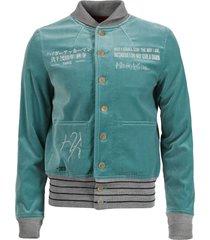 embroidered aviator jacket