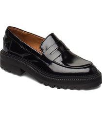 shoes loafers låga skor svart billi bi