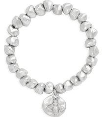 women's karine sultan bee charm bracelet