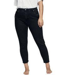cotton on trendy plus size taylor mom jeans