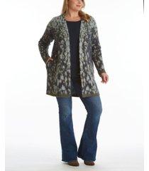 women's plus size novelty poncho cardigan