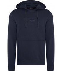 emporio armani knitted sweatshirt - marine