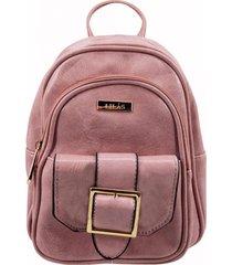 mochila anais rosa lilás carteras