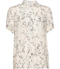 fiaiw shirt blouses short-sleeved crème inwear