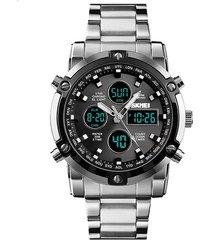 reloj hombre skmei 1389 - plata