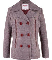 caban in misto lana (rosso) - john baner jeanswear