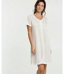 camisola estampa bolinhas manga curta marisa - 10039541178 feminina