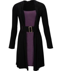 abito in maglia (nero) - bodyflirt