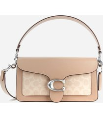 coach women's signature tabby shoulder bag 26 - sand taupe