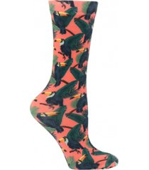 calcetín print tucan multicolor mujer hush puppies