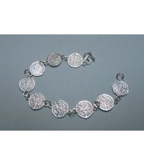 sterling silver saint benedict san benito charm bracelet