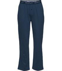 pajama pants jersey mjukisbyxor blå gant