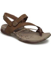 siena light brown shoes summer shoes flat sandals grön merrell