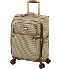 "london fog oxford ii 20"" softside carry-on spinner, created for macy's"