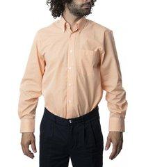 camisa premium cuadrillé naranjo kotting