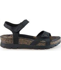 panama jack sandaal sulia basics b2 napa grass negro black-schoenmaat 37