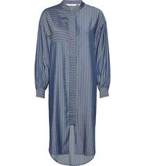 nubardou dress knälång klänning blå nümph