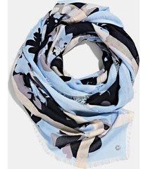 pañuelo mujer estampado azul marino esprit