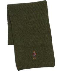 polo ralph lauren men's outdoor bear scarf