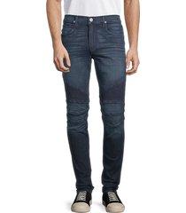 hudson men's slim straight-fit jeans - dark blue - size 33