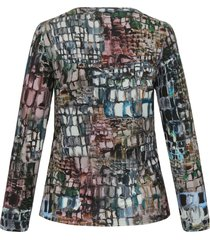 shirt van anna aura multicolour