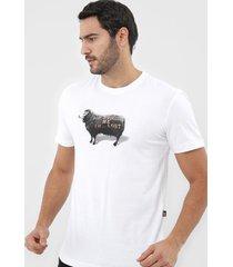 camiseta ...lost don't follow me sheep branca - branco - masculino - dafiti