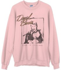 junk food cotton david bowie sweatshirt