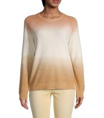 calvin klein women's ombre crewneck sweater - ombre - size s