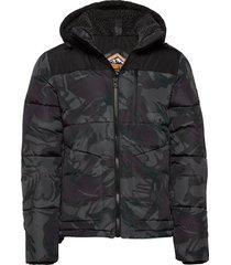 sd expedition coat gevoerd jack zwart superdry