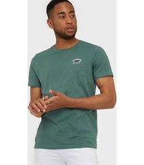 morris léonce tee t-shirts & linnen green