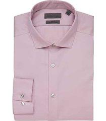 calvin klein men's infinite non-iron english rose slim fit dress shirt - size: 18 38/39