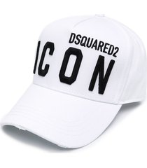 dsquared2 jersey cap with logo