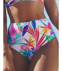 bora bora high waist tummy control bikini brief