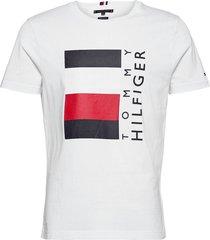 corp stripe box tee t-shirts short-sleeved vit tommy hilfiger