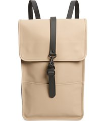 rains waterproof backpack - beige