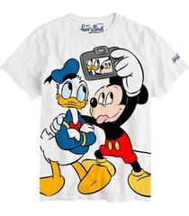mc2 saint barth disney selfie boy t-shirt - disney© special edition