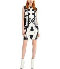marella eureka flared printed dress